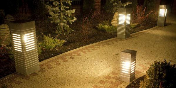 lampy ogrodowe kamienne